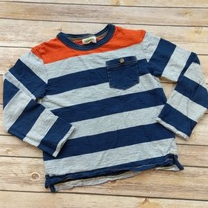 Crazy 8 Rugby Stripe Long-Sleeve Tee